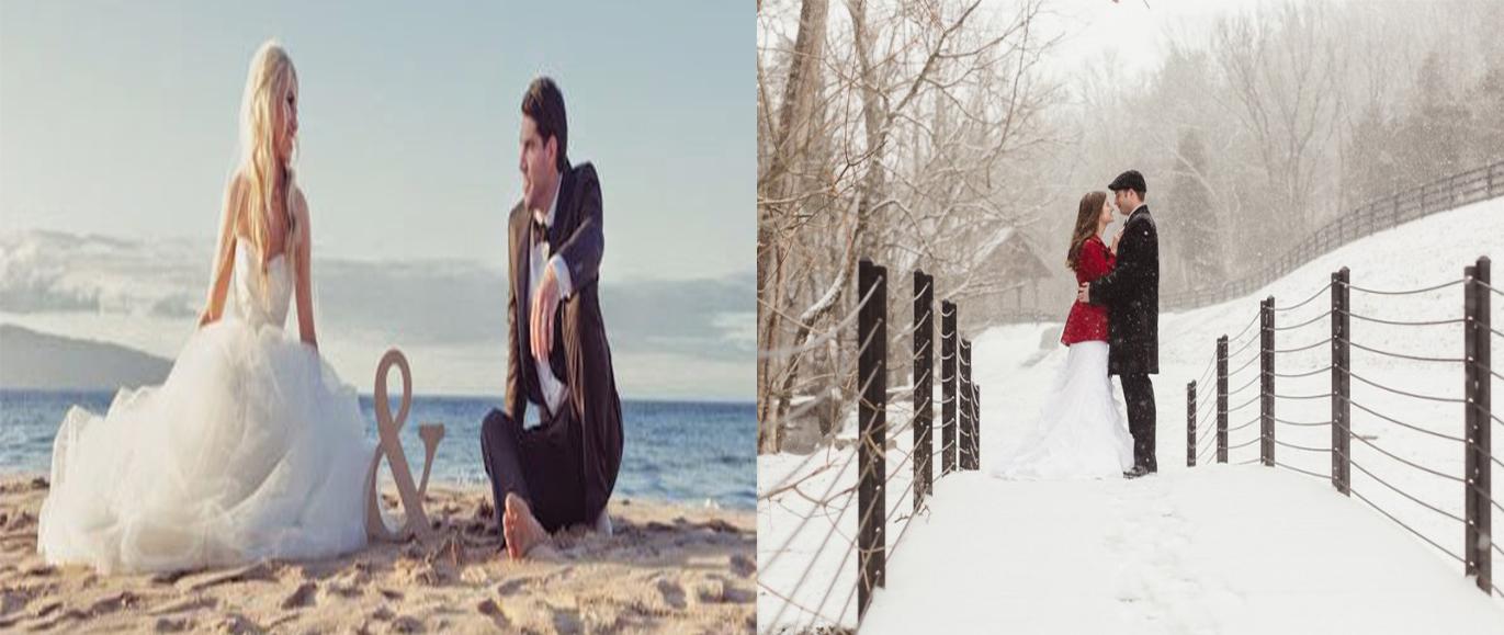 Summer Wedding vs Winter Wedding